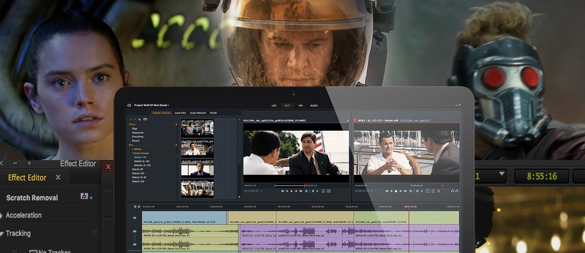 Video editing professionale