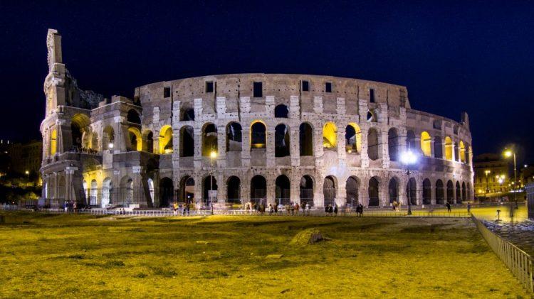 DJI Osmo plus - Foto notturna stabilizzata Colosseo