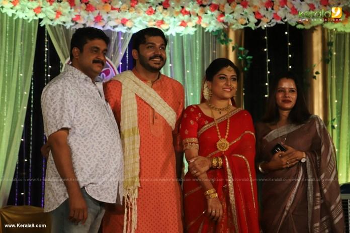 Anjali Nair Brother Ajay Wedding Reception photos 048