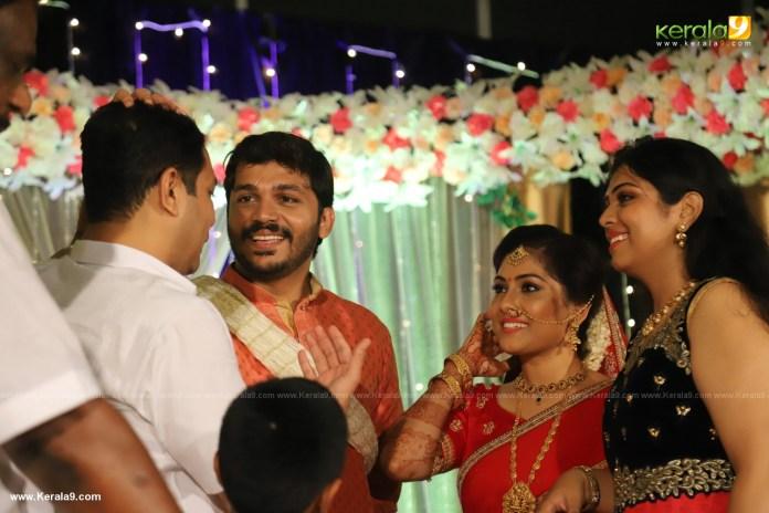 Anjali Nair Brother Ajay Wedding Reception photos 081
