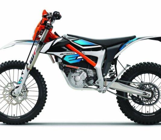 KTM electric motorcycle