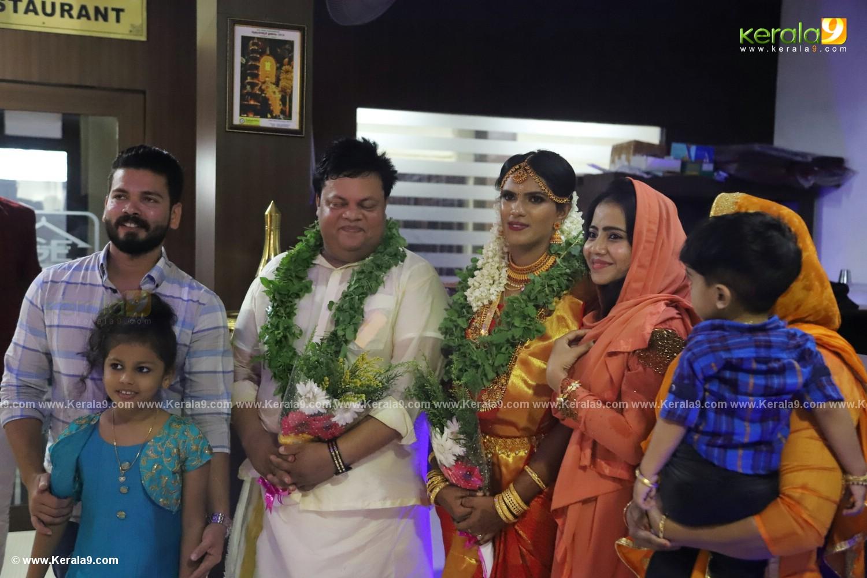 anoop chandran marriage photos