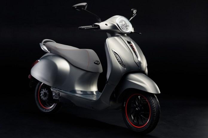 bajaj chetak electric scooter photos 1