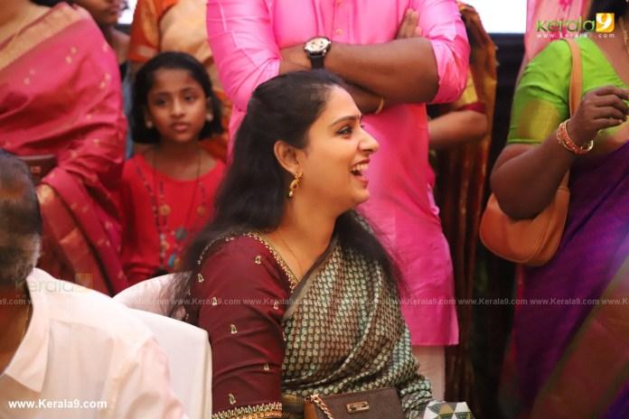 Radhika Nair at actress mahalakshmi marriage photos 036