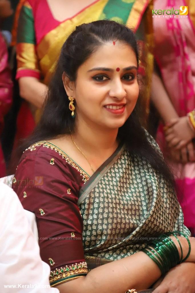 Radhika Nair at actress mahalakshmi marriage photos 037