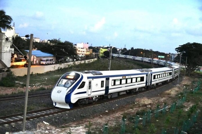 Semi High Speed Rail India