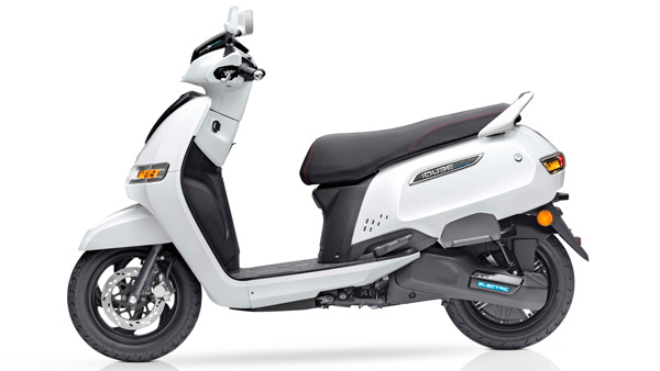 TVS launches its first electric scooter