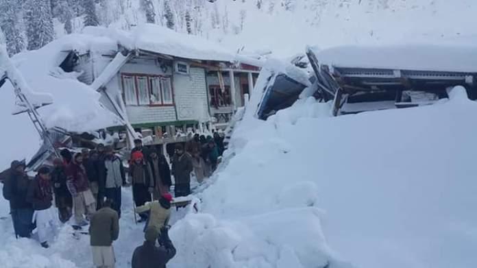 snowfall in Jammu