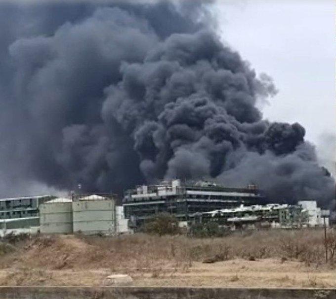 Gujarat chemical factory
