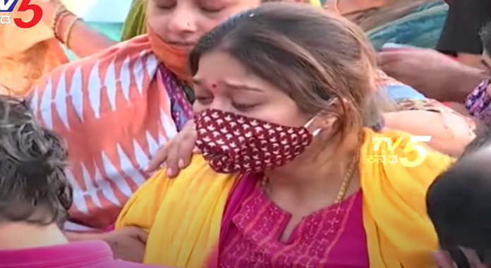 Meghana Raj Husband Chiranjeevi Sarja Funeral Photos 019