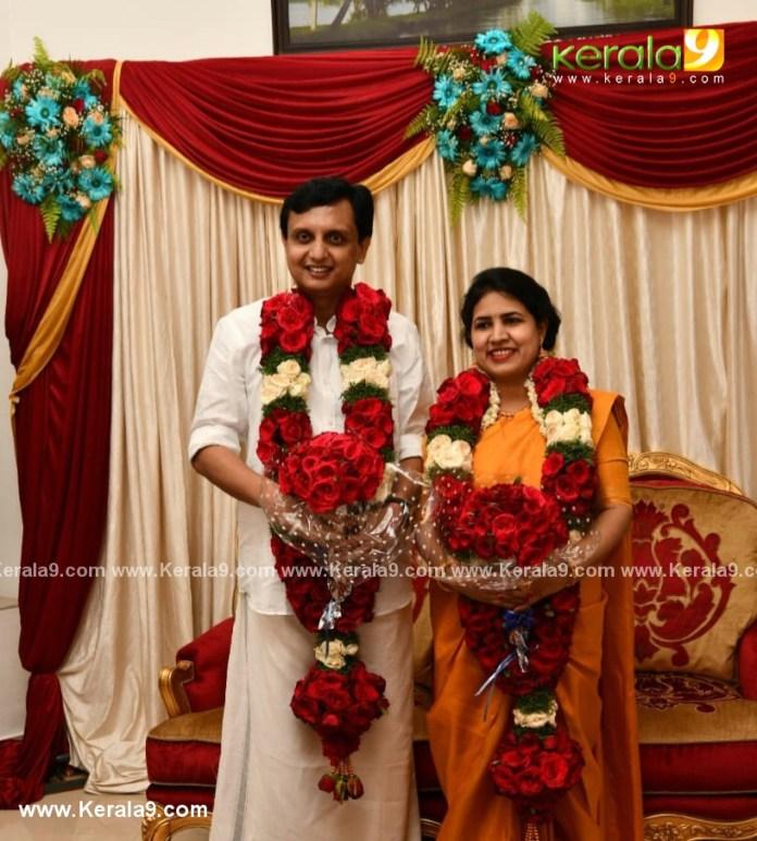 pinarayi vijayan daughter veena wedding photos 015