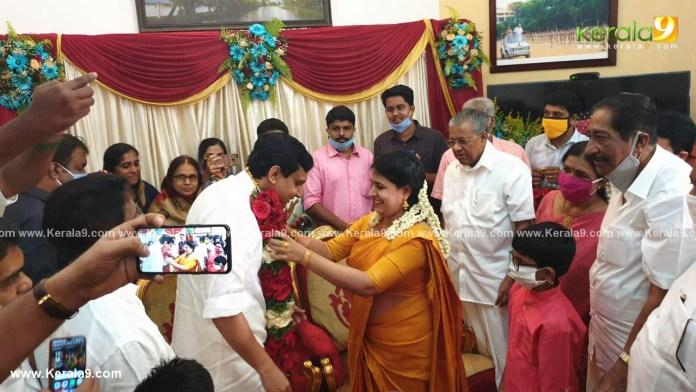 pinarayi vijayan daughter wedding photos 005