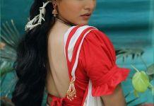 Wamiqa Gabbi new saree photos 31