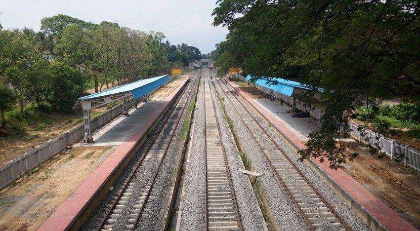Indian railways Amritha express