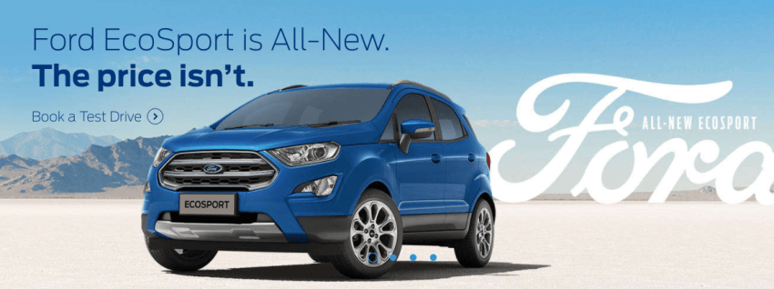 Kerala price of 2017 new ford ecosport