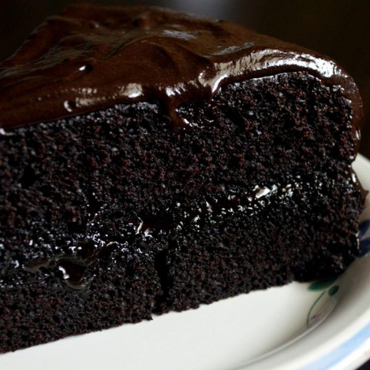 Double Dark Chocolate Cake - Kerala Cooking Recipes ...