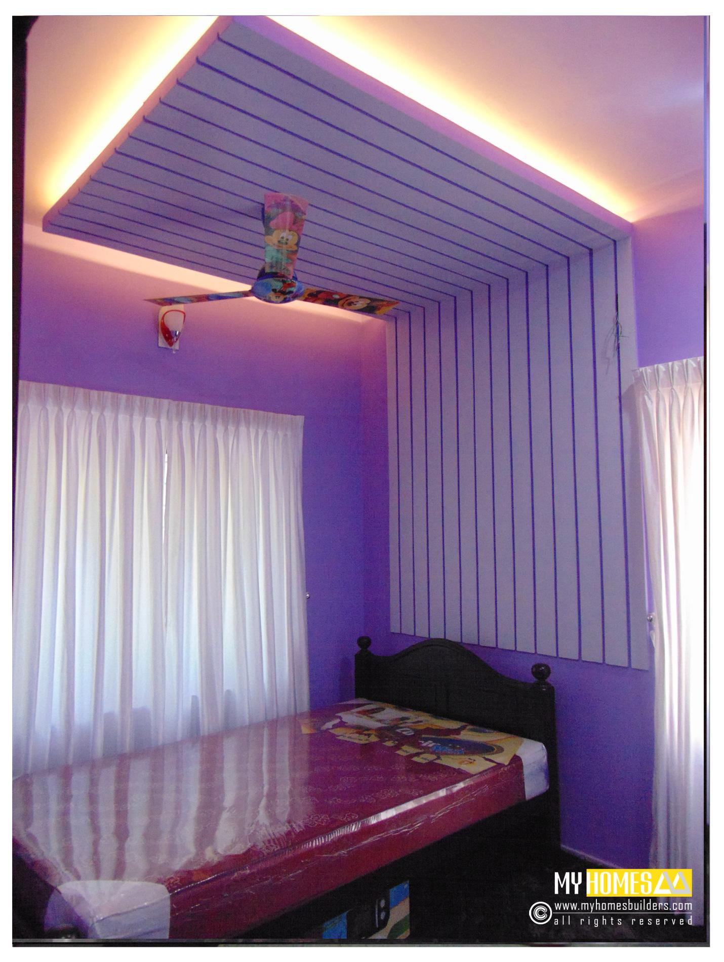 simple style interior ideal kids bedroom designs in kerala ... on Simple Best Bedroom Design  id=13007
