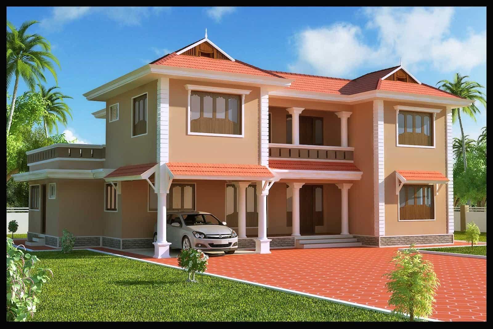 Duplex Kerala Home Design At 2618 Sqft