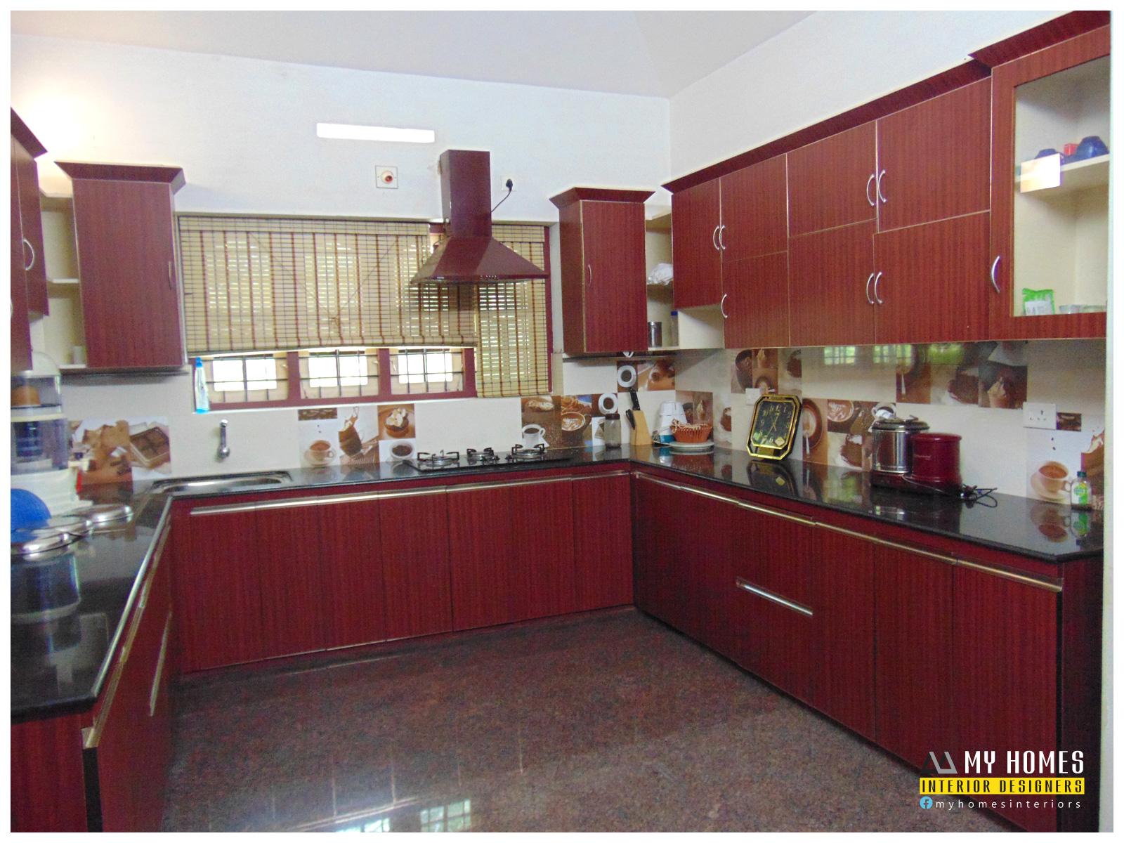 Top kitchen design kerala from Interior designers thrissur ... on Model Kitchen Design  id=17940