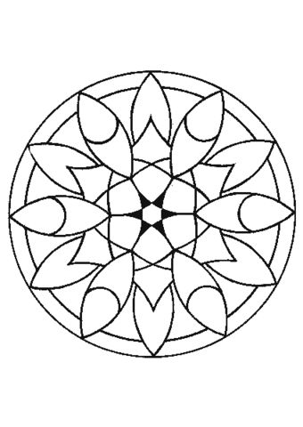onam pookalam designs outline - 13