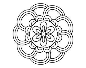 simple onam pookalam outline designs - 13, onam 2020