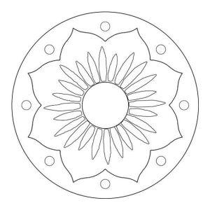 simple onam pookalam outline designs, onam, onam 2020