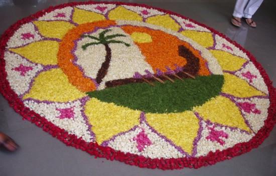 Pookalam Onam celebrations