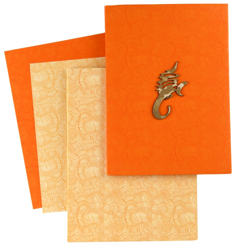 Front Of Card And Envelope With Inserts