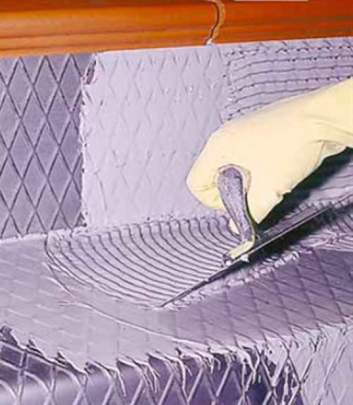 Бассейн. Укладка плитки на металл и ПВХ-мембрану