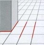раскладка плитки