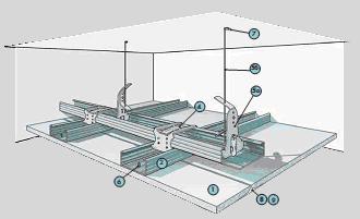 системы подвесных потолков