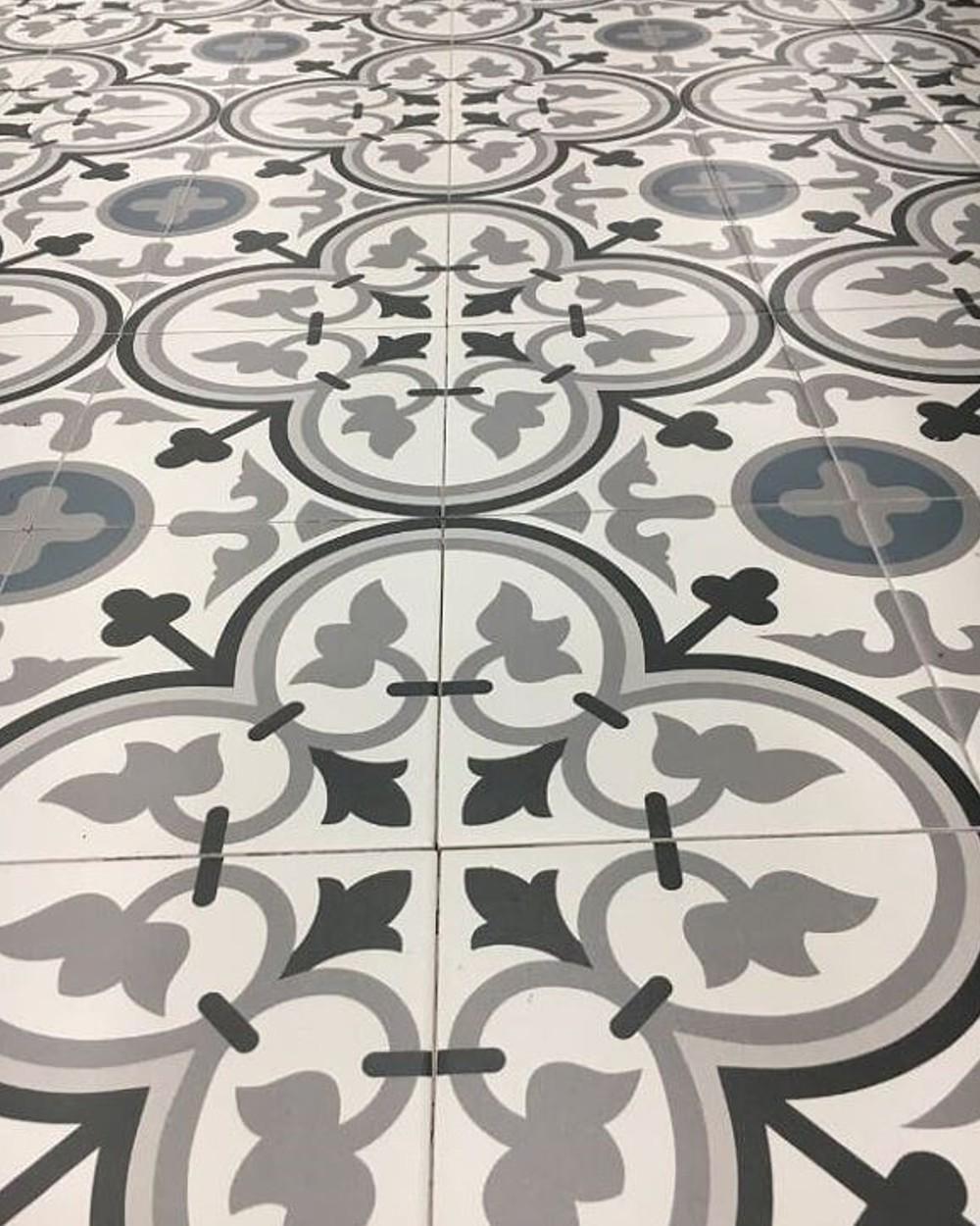 la villete george bleu 20x20 cm floor tile r10 keramics tiles online shop
