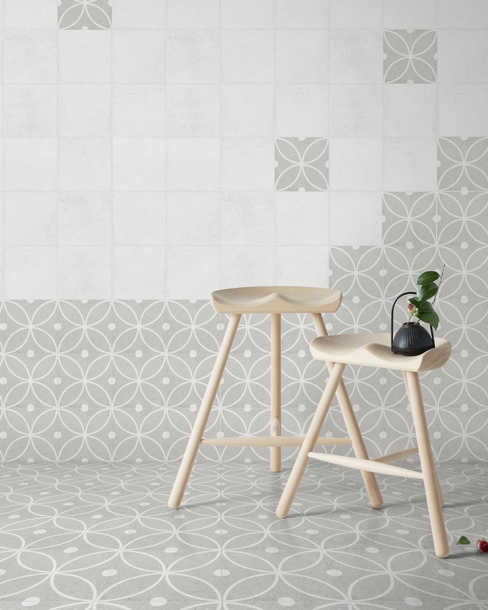 porcelain stoneware tile art nouveau coachella lilou 20x20 cm tile online shop