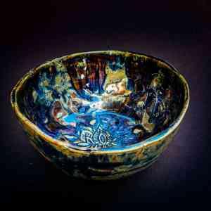 Matchschale Keramik handgemacht handmade Geschirr