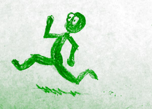 Running Stickman - Misconceptions