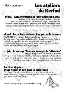 Bulletin Kerfad #5 recto