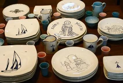 céramique saints