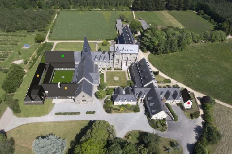 Abbaye de Kergonan - projets de construction
