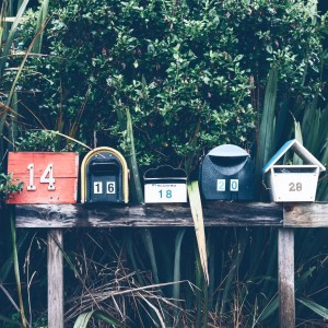 Boîtes postales