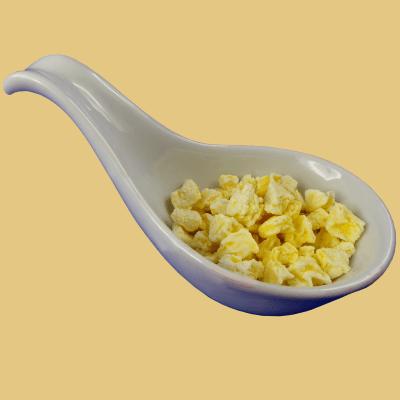 Gefriergetrocknete Früchte - Ananasstücke