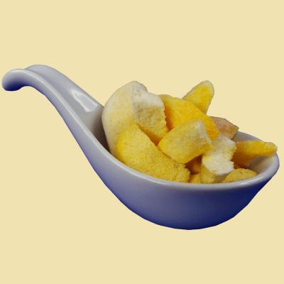 Gefriergetrocknete Früchte - Pfirsichscheiben