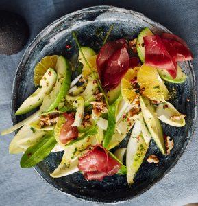 Avocado Chicorée Salat
