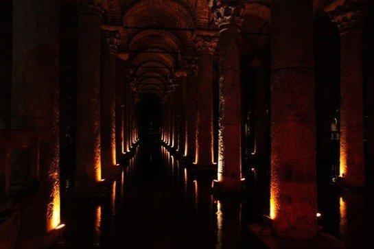 Yerebatan (Bazilika) Sarnıcı -Yerebatan Sarayı (11 Fotograf)
