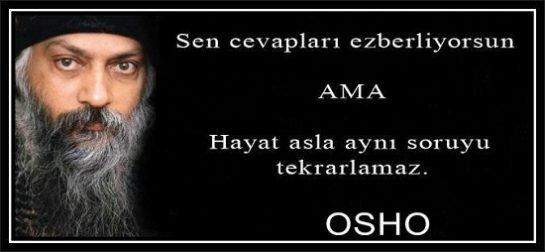 Osha'dan Güzel Sözler