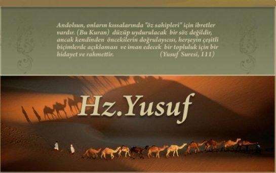 Hz. Yusuf'tan Bir Hikaye