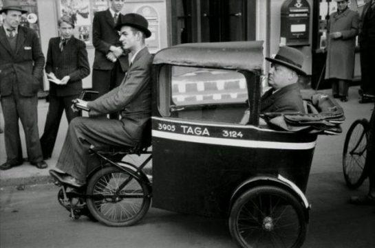 Üç Tekerlekli Taksi