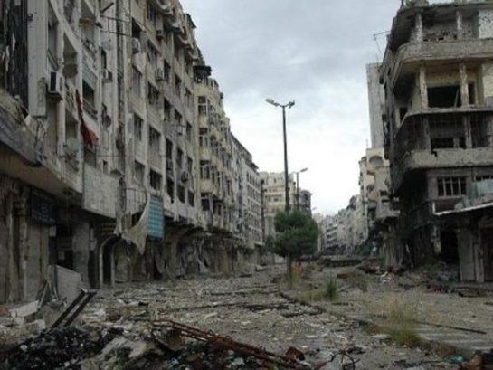 Suriye'de Savaş Öncesi ve Sonrası (6 Fotograf)