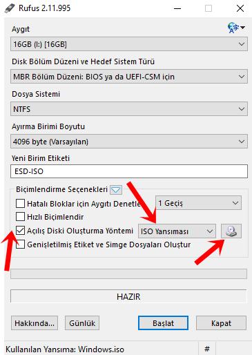 Windows 10 İçin USB Bellek ile Kurulum Nasıl Yapılır?
