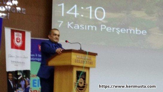 Karaman'da Organ Bağışı ve Nakli Konferansı Düzenlendi.