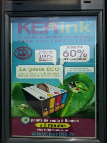 Affiche kiosque